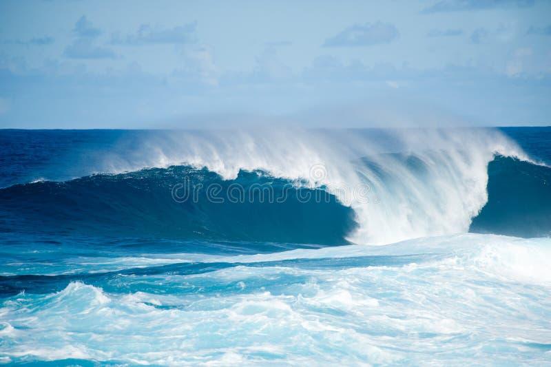 Onda in La Palma immagini stock libere da diritti