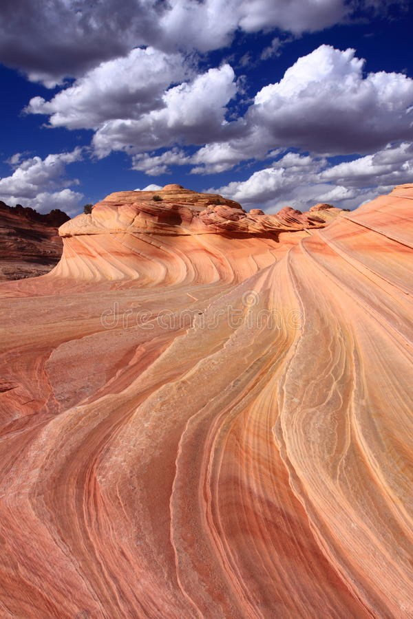 A onda, o Arizona foto de stock