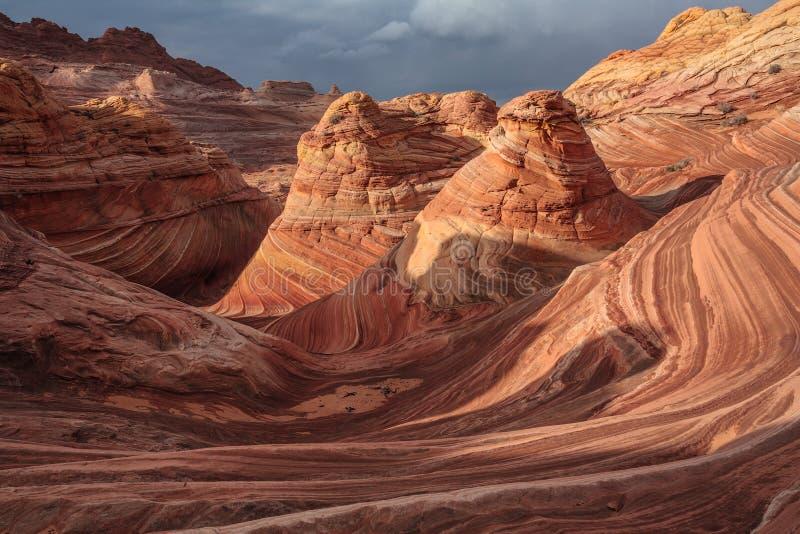 A onda, o Arizona fotos de stock