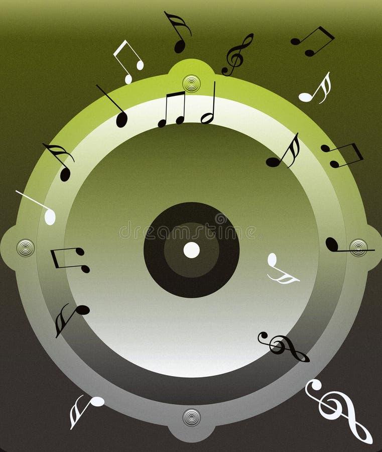 Download Onda sadia ilustração stock. Ilustração de melodia, resonant - 534860