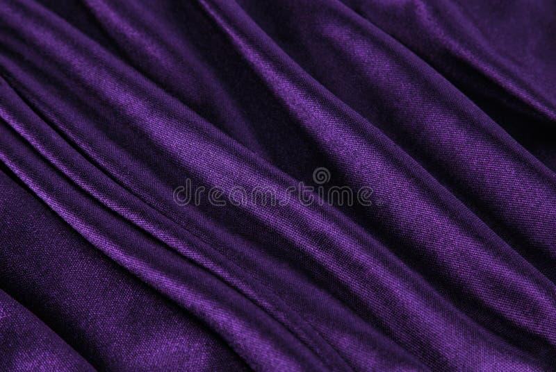 Onda violeta de la tela imágenes de archivo libres de regalías