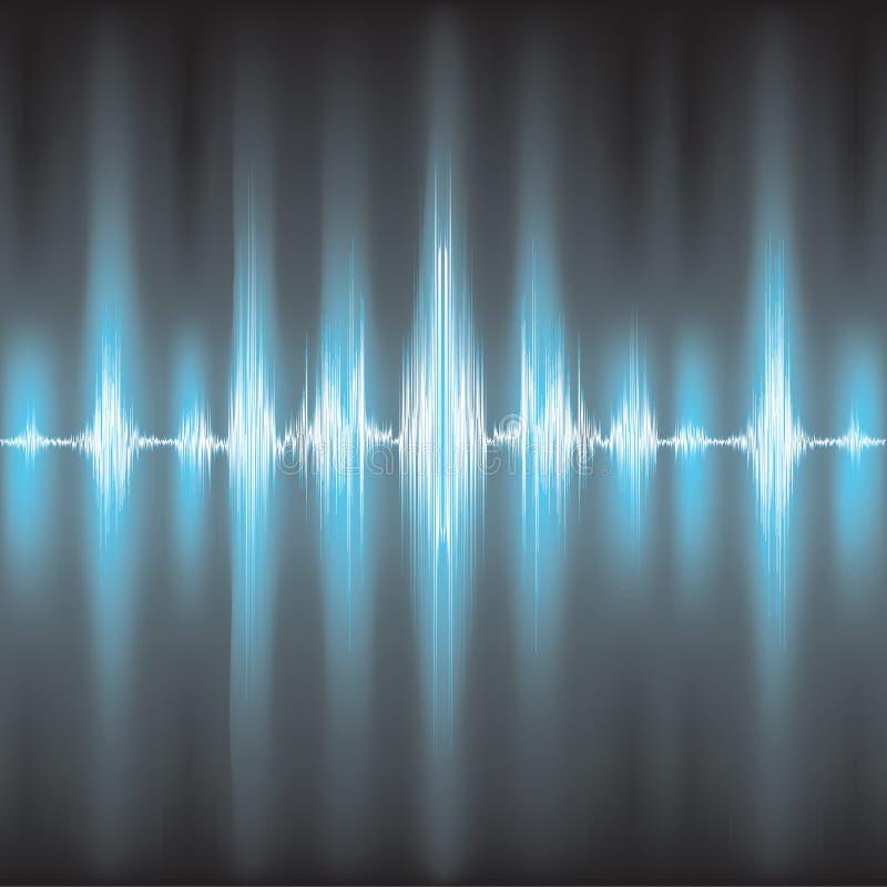 Ondas acústicas que oscilan libre illustration