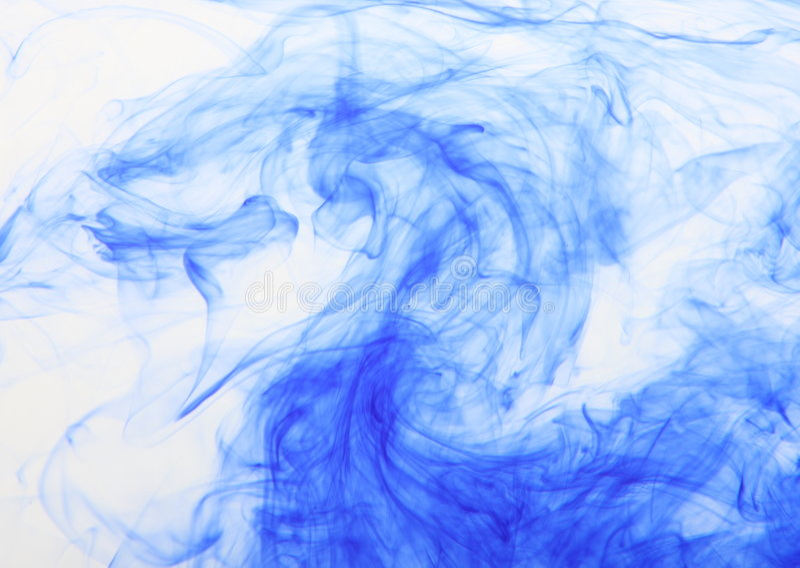 Ondas azules foto de archivo libre de regalías