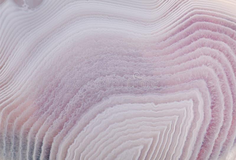 Ondas cinzentas e lilás da luz - da ágata da textura imagem de stock royalty free