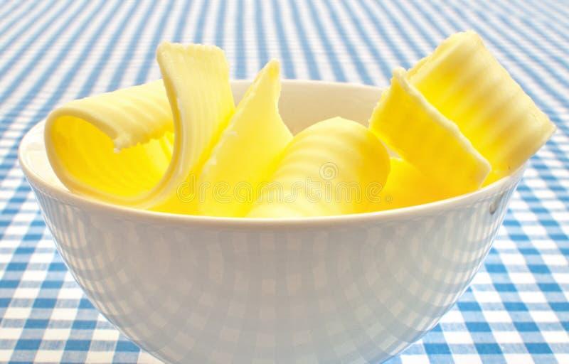 Ondas da manteiga foto de stock