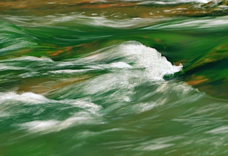 Ondas de água branca fotografia de stock