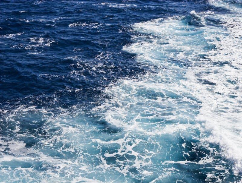Ondas de oceano fotografia de stock