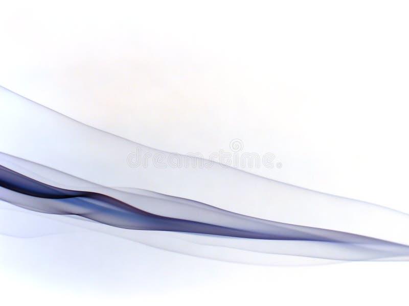 Ondas de seda da violeta fotos de stock