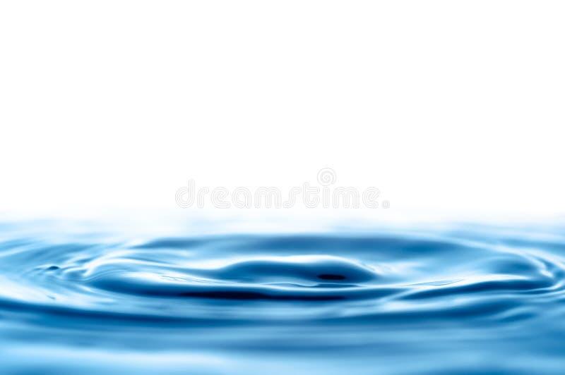 Ondas del descenso del agua fotografía de archivo libre de regalías