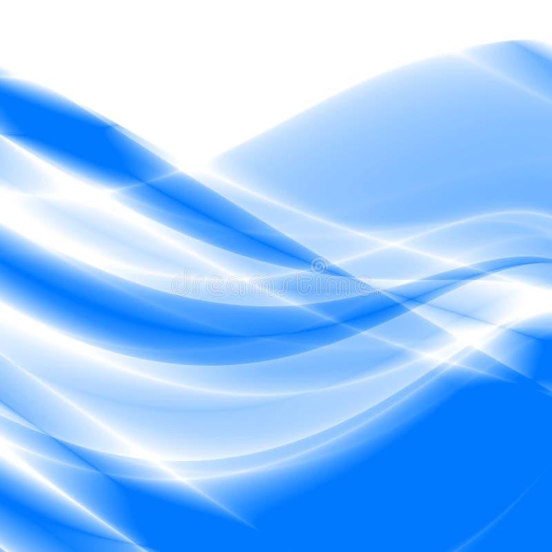 Ondas del extracto ilustración del vector