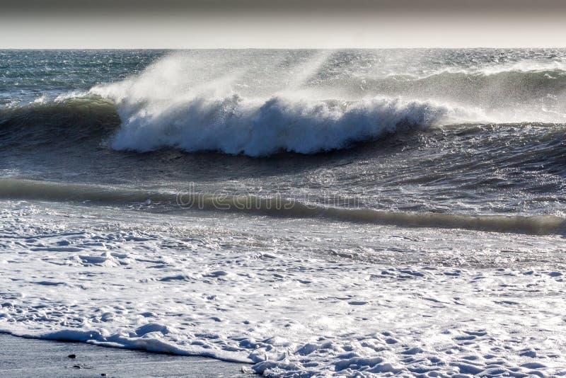 Ondas del mar imagen de archivo