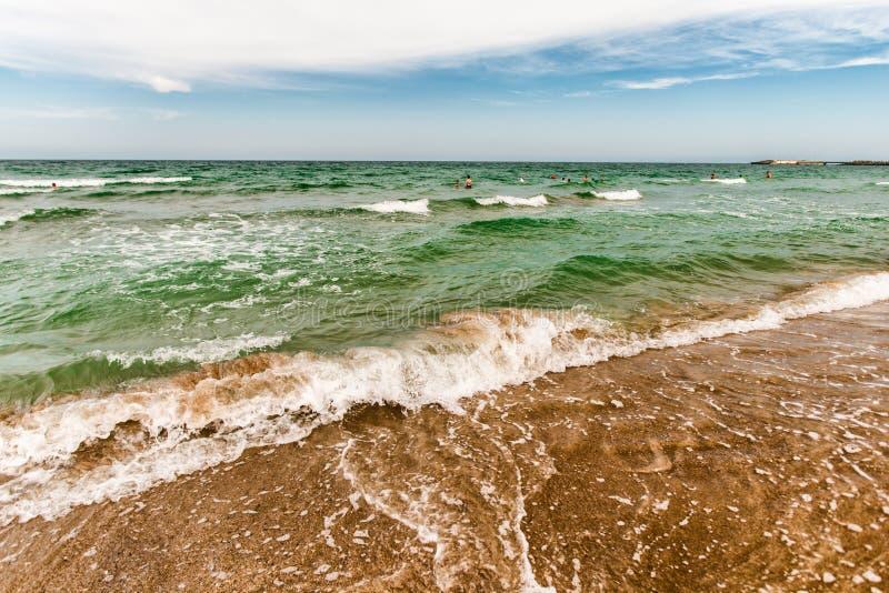 Ondas do Mar Negro foto de stock royalty free