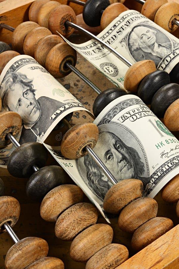 Ondas financieras foto de archivo