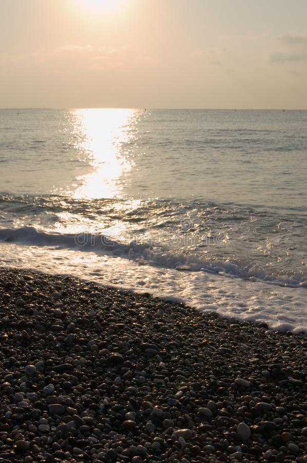 Ondas na praia imagens de stock royalty free