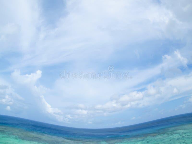Ondas tropicais imagem de stock