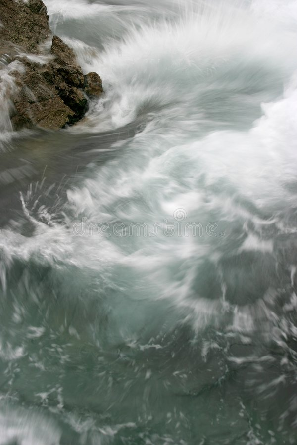 Ondas turbulentas foto de archivo