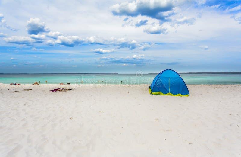 Onde Australia della spiaggia di Hyams immagini stock libere da diritti
