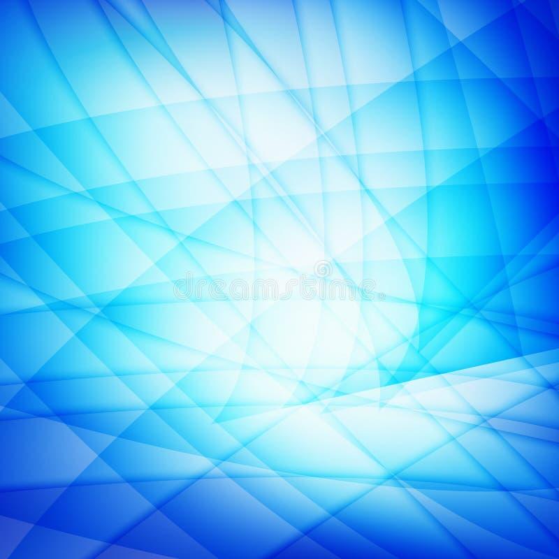 onde bleue de milieux image stock