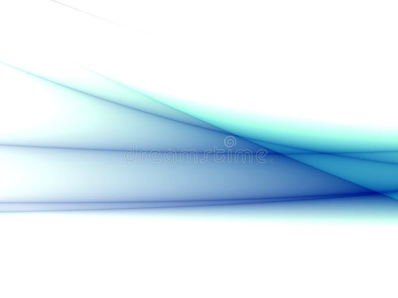 Onde blu illustrazione di stock