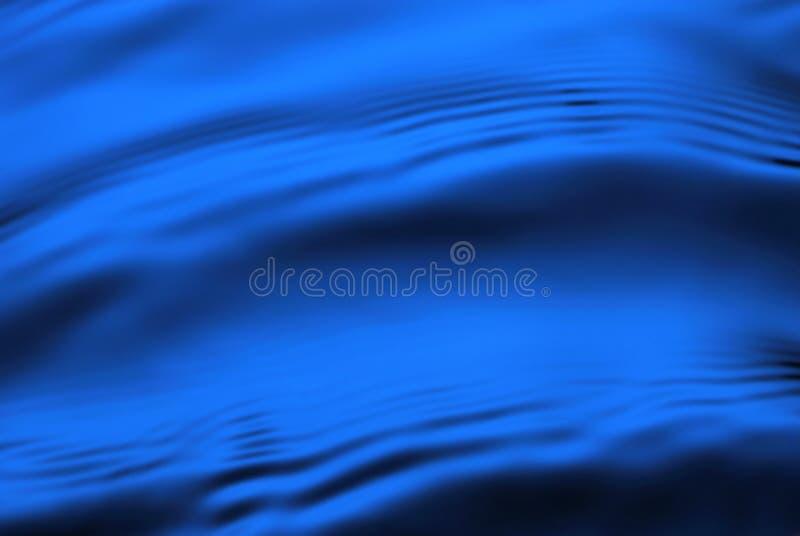 Onde blu fotografie stock