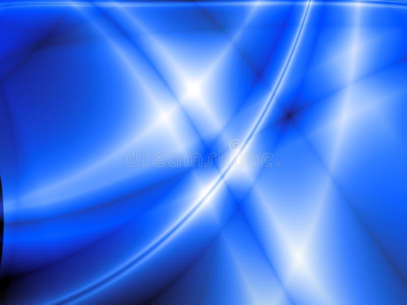 Onde blu illustrazione vettoriale
