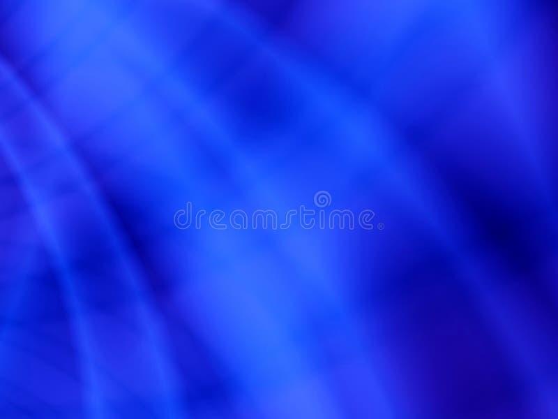 Onde chiare blu astratte illustrazione vettoriale