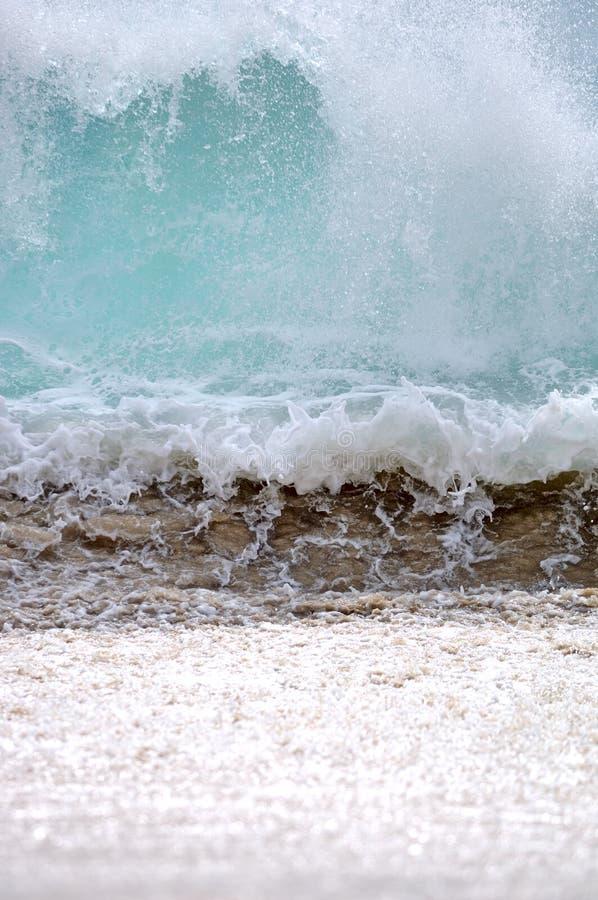 Onde D Océan Dans Californie Sur, Mexique Image stock