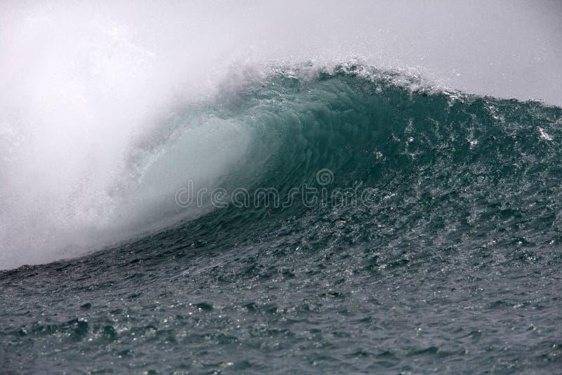Vague hawaïenne de Southshore photos libres de droits