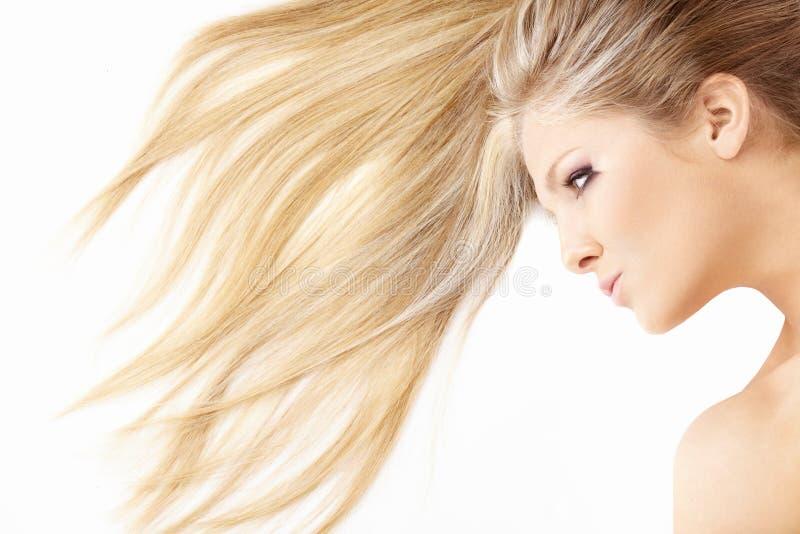 Onde dei capelli fotografie stock libere da diritti