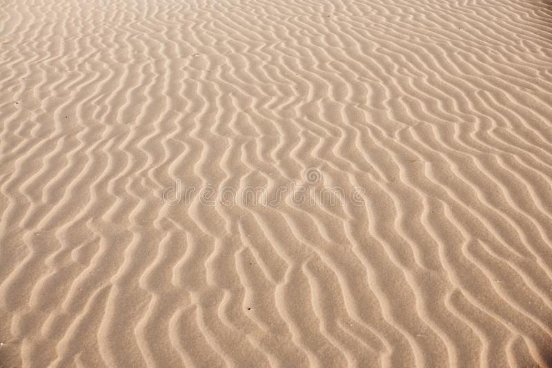 Onde della duna immagini stock libere da diritti