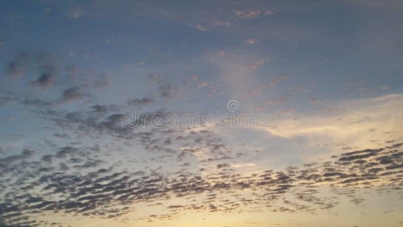 Onde della nuvola fotografia stock