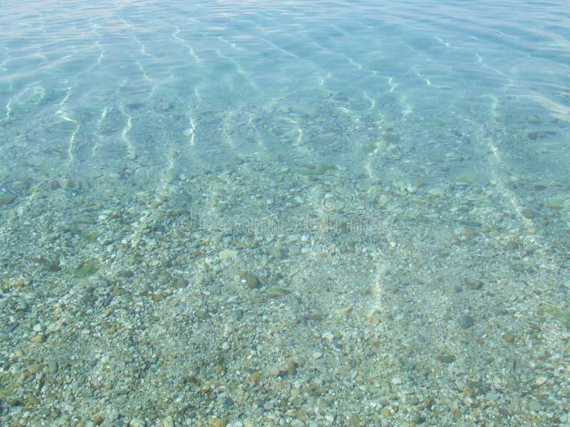 Onde di acqua fotografia stock