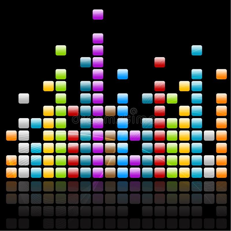 Onde di musica royalty illustrazione gratis
