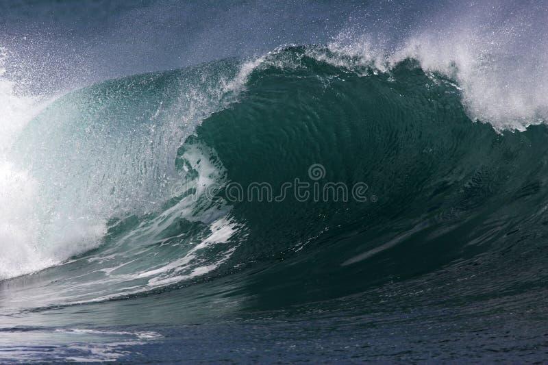 Onde du sud hawaïenne IV de rivage photos libres de droits