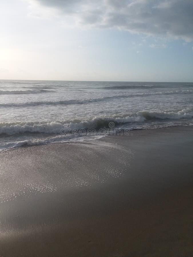 Onde in Oceano Atlantico immagini stock