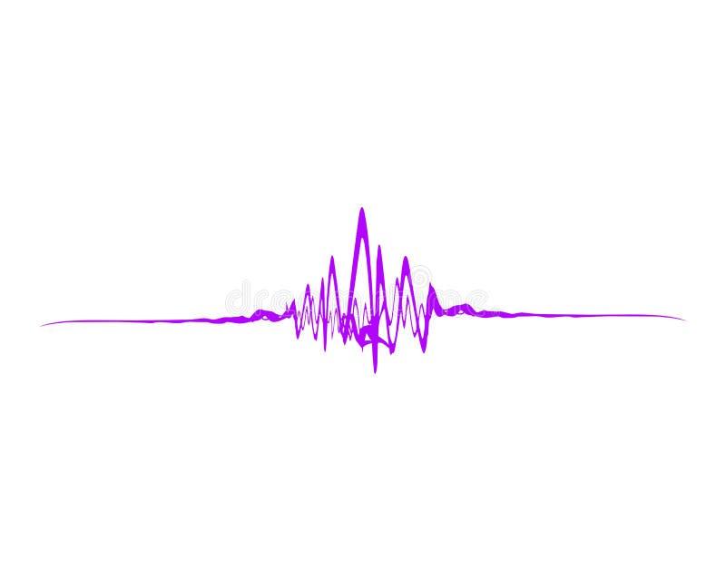onde sonore illustration stock