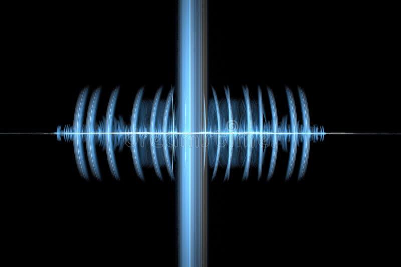Onde sonore illustrazione di stock