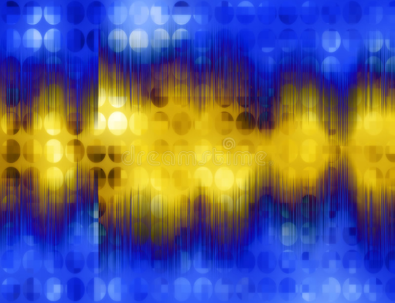 Onde sonore illustration libre de droits