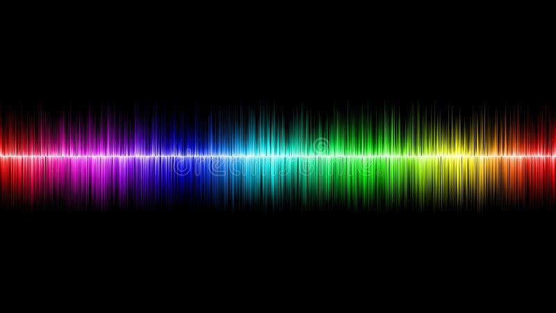 Onde sonore illustration de vecteur