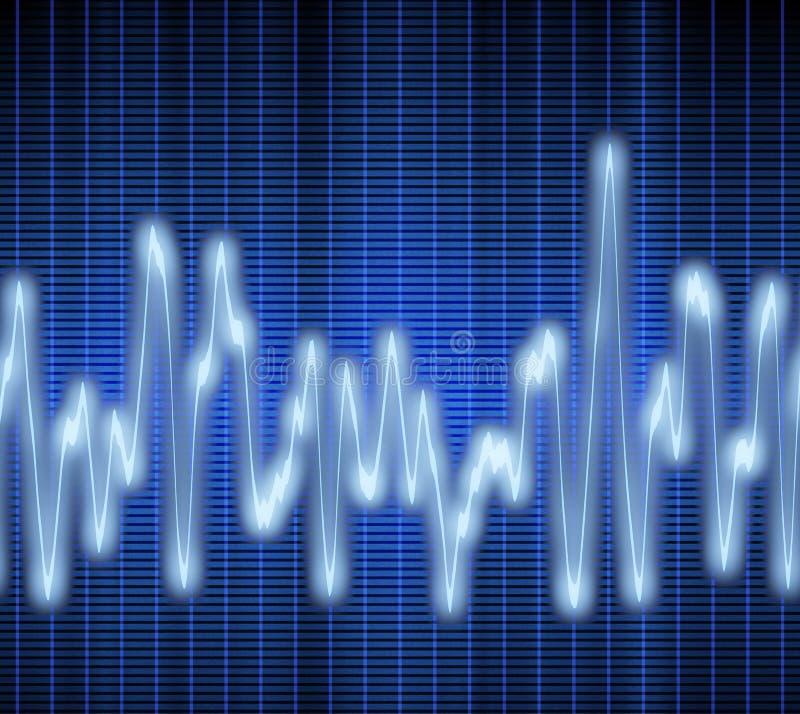 Onde sonore ou sonore illustration libre de droits