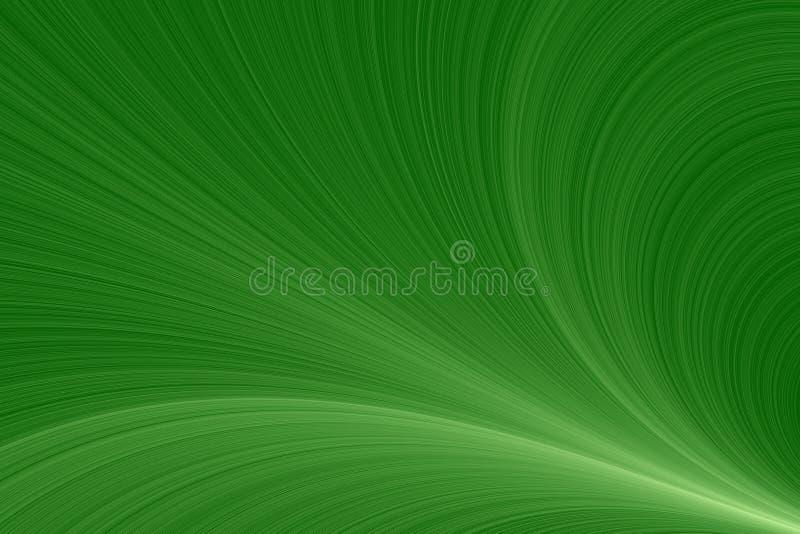 Onde verdi illustrazione di stock