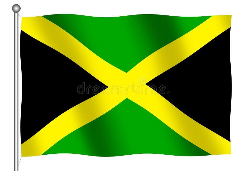 Ondeggiamento giamaicano della bandierina