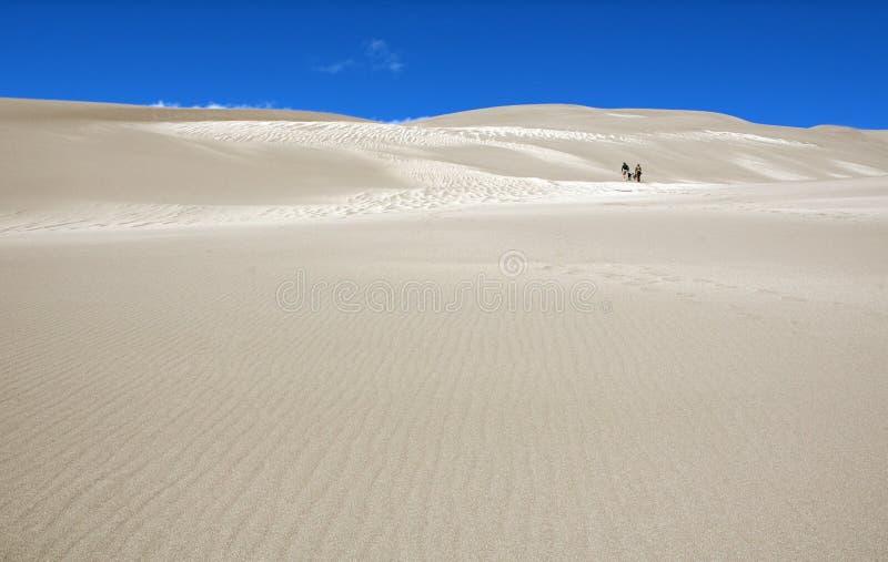 Onder de duinen stock afbeeldingen