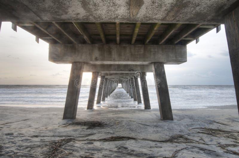 Onder de Promenade stock foto