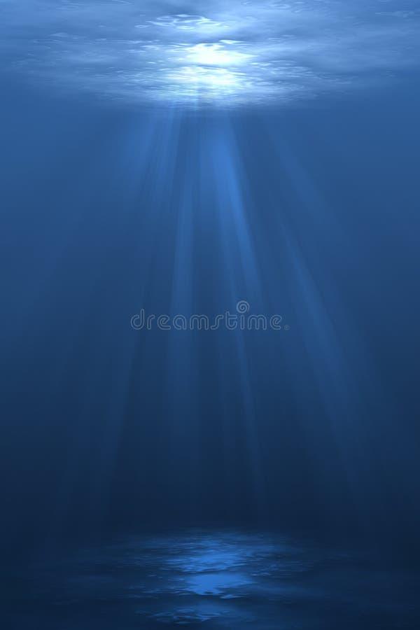 Onder Water vector illustratie