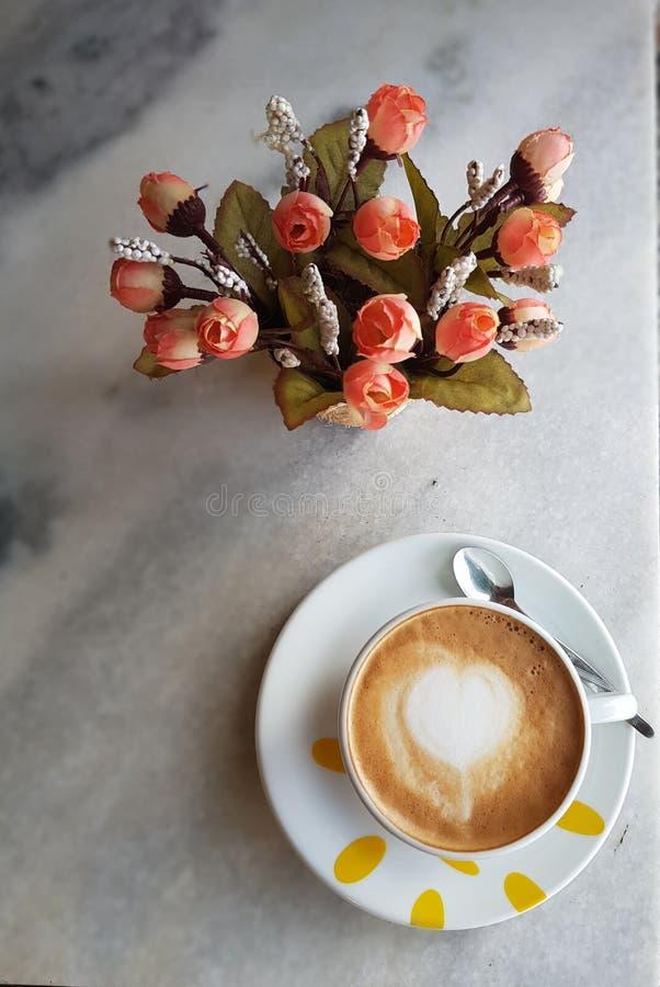 Onderbreking voor koffie stock fotografie