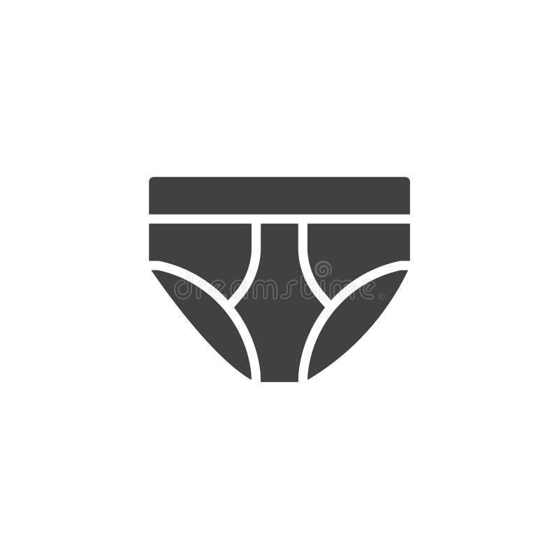 Ondergoed vectorpictogram vector illustratie