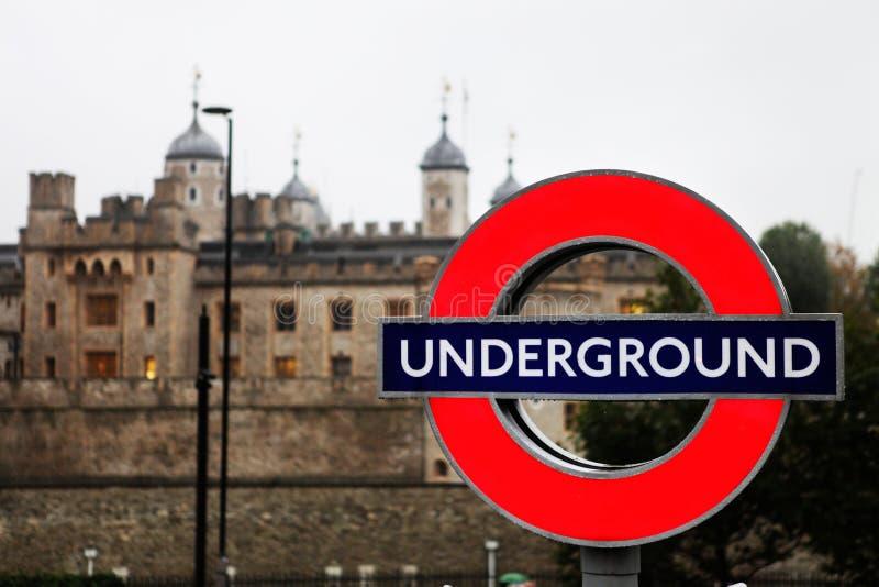 Ondergronds stock afbeelding
