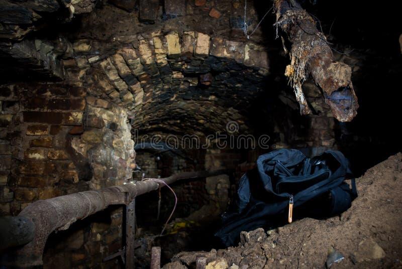 Ondergronds royalty-vrije stock fotografie