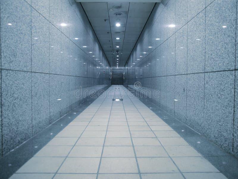 Ondergrondse passage stock foto's